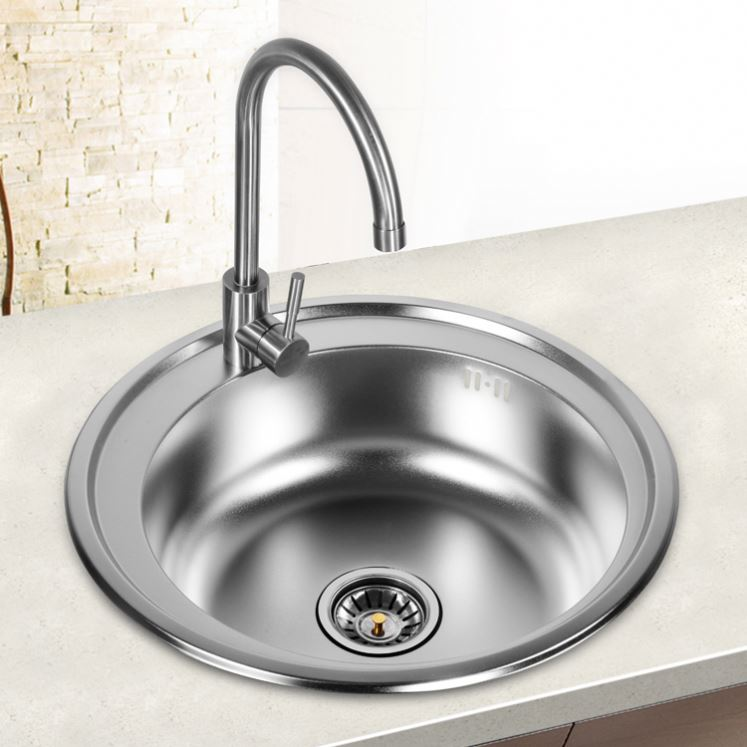 Transformation and <strong>up</strong> grading stainless steel kitchen sink