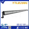 International certification 288w car led light bar with small lens automotive 50 inch 4d led light bar