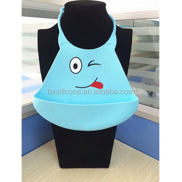 Good quality latest manufacturer nice silicone baby bibs