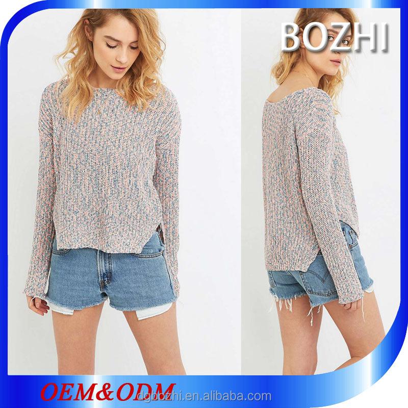 Latest Wool Handmade Sweater Design For Girl 2016 Autumn Woman ...