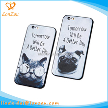 Custom phone cases wholesale dog cat pattern unique unbreakable printable cell fancy animal shaped phone cases