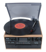 2016 Latest design modern gramophone for sale,nostalgic radio cassette recorder with usb and cd