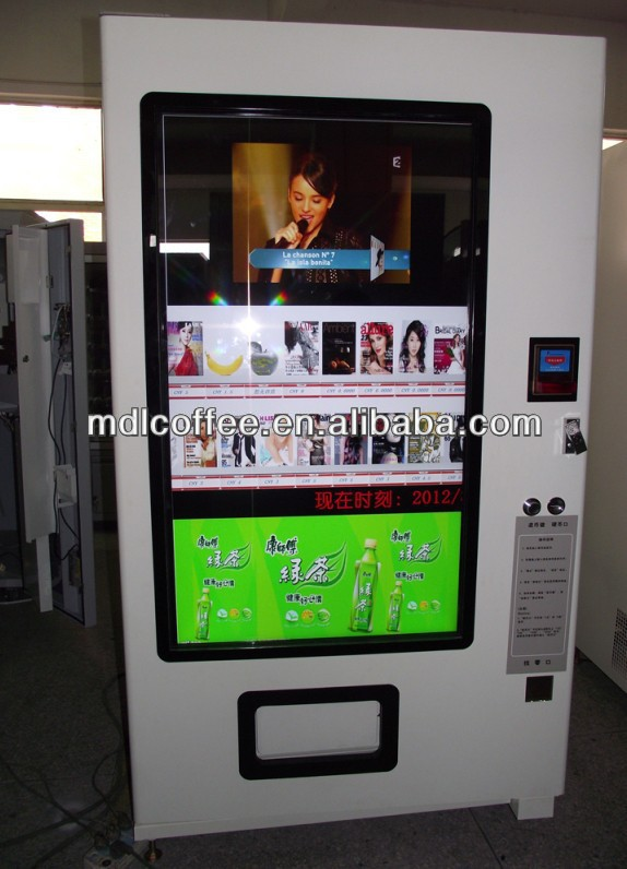 T-shirt/flip flop/shoes/slippers vending machine with large Touch screen(LG&Samsung) LV-205Y-55