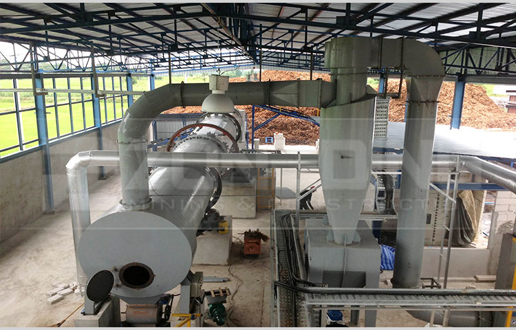 New design rotary dryer iron ore roller rotary drum dryer drying machine