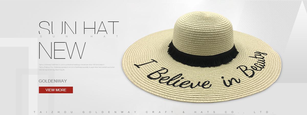 5bab0412190ad Taizhou Goldenway Craft   Hats Co.