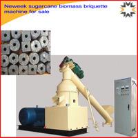 Neweek rice husk charcoal corn cob sugarcane biomass briquette machine for sale