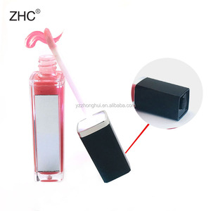 CC36087 New Led lip gloss container lighted lip gloss with mirror