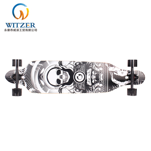 2018 best selling skateboard 41 inch death wish long board PU wheels OEM