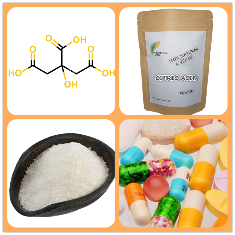 China Factory Supply citric acid anhydrous e330