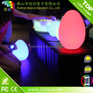 waterproof led light table lamp/rechargeable led table lamps for outdoor party