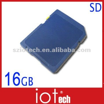 Professional Flash Memory Factory 16gb sd card price