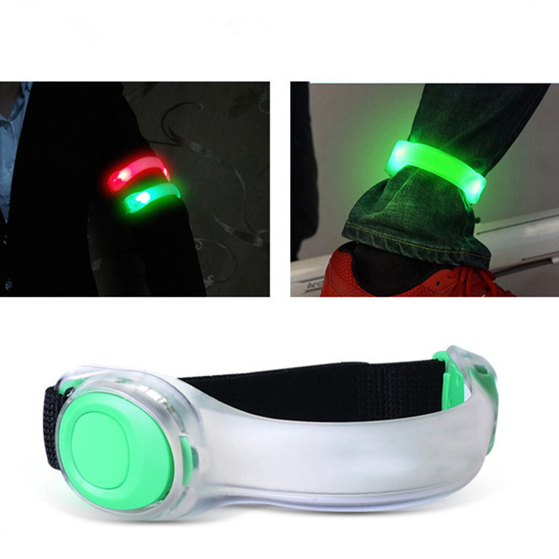 Fluorescent Night Running LED Running Lights Night Run Luminous Hand Ring Foot Ring