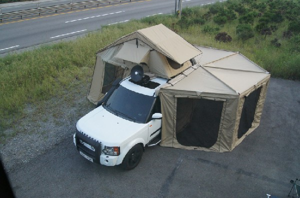 Danchel 4 Side Sector Side Tent Awning 2 5m Roof Tent