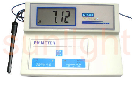 Cheap Lab pH Meter, Lab pH Meter for Education, ATC, PH-016A