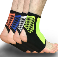 Sports Compression Ankle Support Elastic Ankle Pads Brace Guard Foot Ankles Protector Wrap