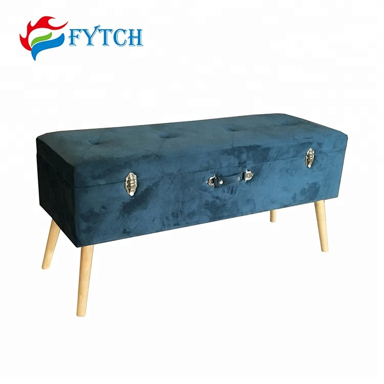 Surprising New Model Bedroom Furniture Velvet Tufted Storage Bench Seat Buy Storage Bench Seat Product On Alibaba Com Machost Co Dining Chair Design Ideas Machostcouk