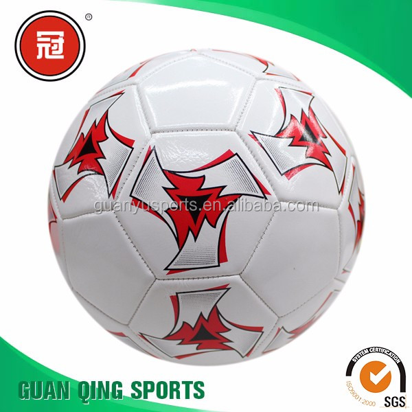 Custom design promotional soccer ball football Machine Stitched Size 5 Custom Printed Football foam soccer 932