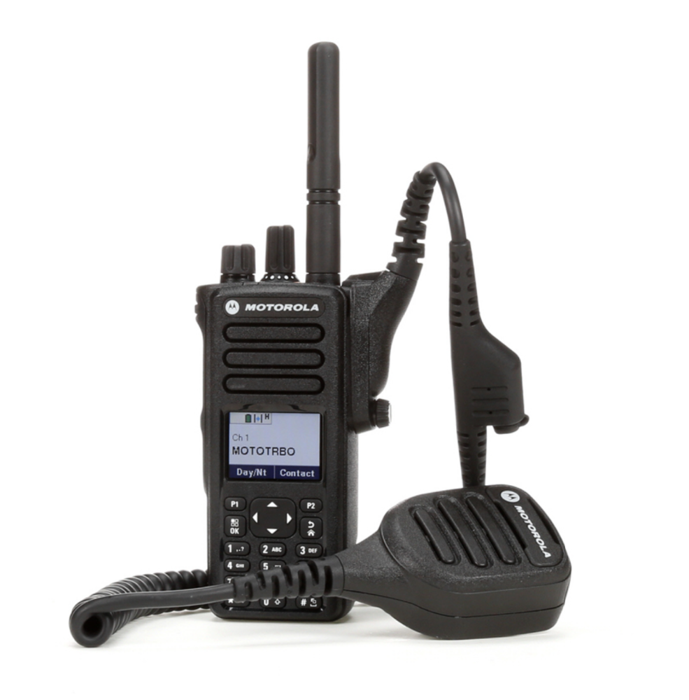 Portable Motorola DGP5550e <strong>digital</strong> UHF walkie talkie with IP68