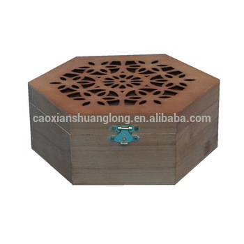 Fancy Design Wooden Small Jewelry Box For Storage