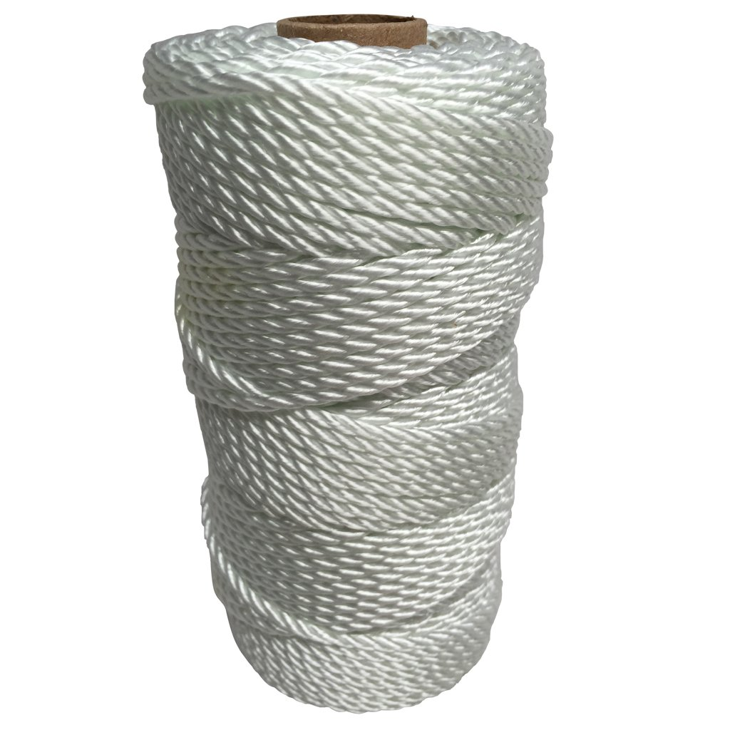 SGT KNOTS Twisted Nylon Seine Twine - #6, #7, #9, #12, #15, #18, #21, #24, #30, #36, #42, #48, #60, #72, #96, #120 (1 Pound - #60 - 318 feet)