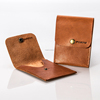 Top Quality Factory Price Brown Real Leather Business Note Card Holder