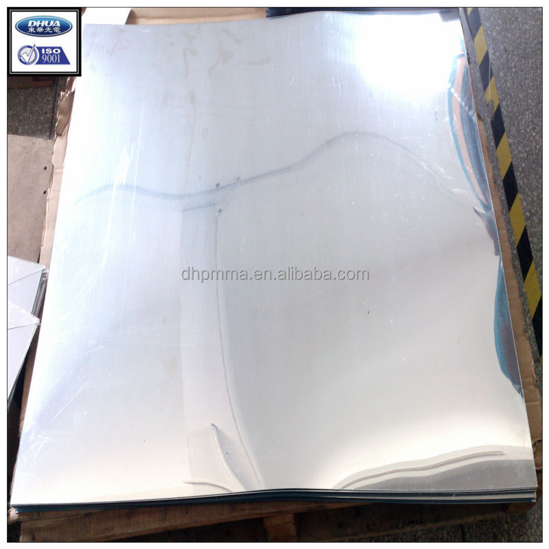 Plastic Unbreakable Mirror Sheet In Pmma Material Buy