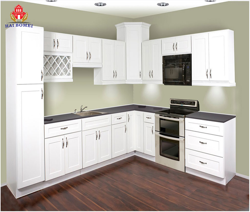 Wood White Aluminum Kitchen Cupboard Kitchen Cabinet View Wood Aluminum Kitchen Cabinet Bomei Product Details From Guangdong Bomei Windows Doors Cabinets Co Ltd On Alibaba Com