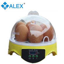 Cheap egg incubator mini chicken egg incubator 7 eggs AI-7