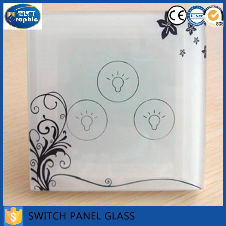 Colored sillscreen switch decorative tempered glass panels for Decorative tempered glass panels