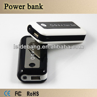 Latest high Capacity universal Portable mobile phone portable battery charger Power Bank source supply