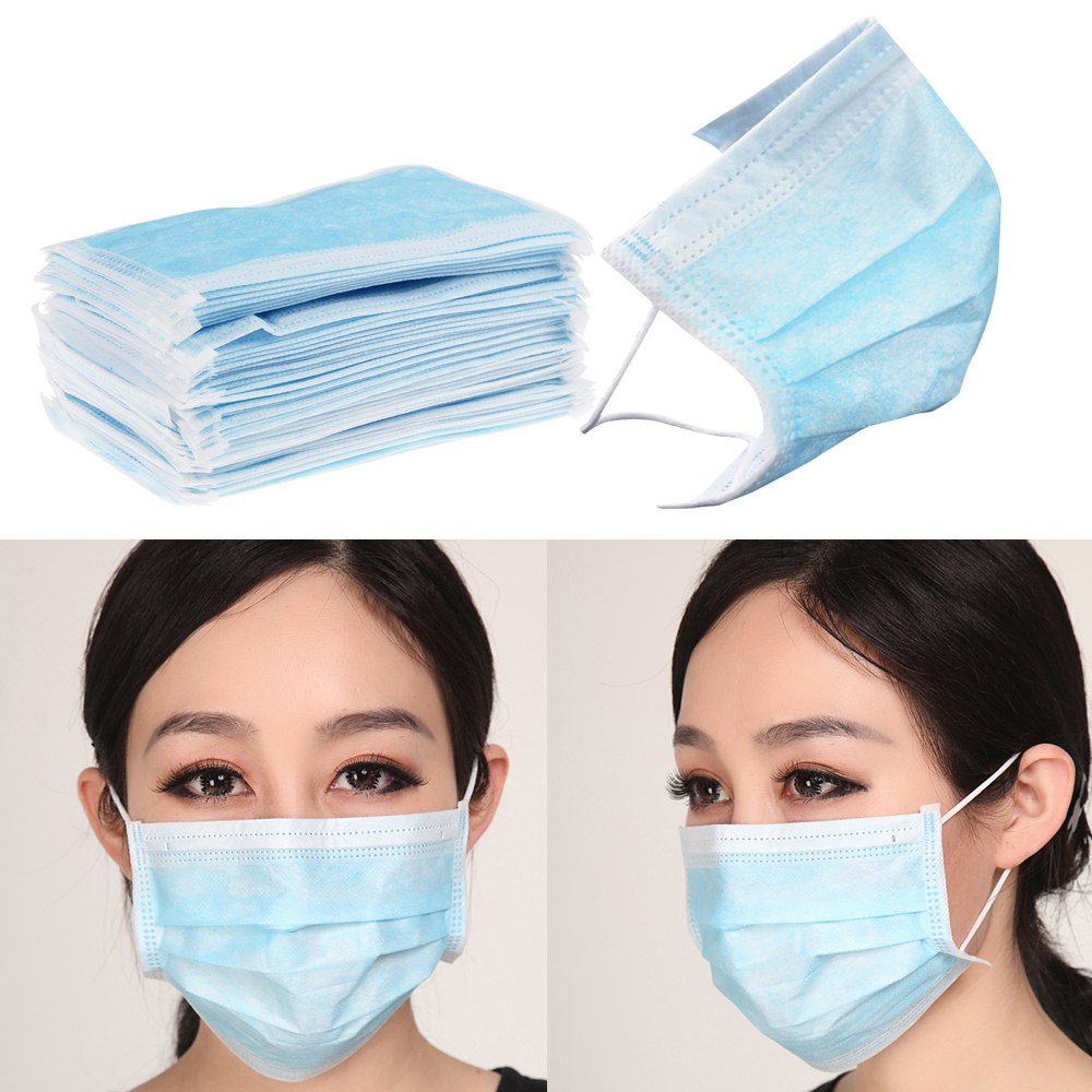500pcs Hospital Use Anti-bacterial Clear Face Mask For Sale - Buy ...
