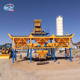 High efficiency 50m3h concrete batching mixing plant