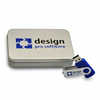 Elegant Shape Showy usb tins box