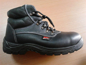 widely used personal protective finished leather Rhino work boots A-grade quality