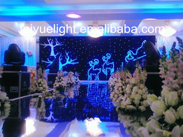 Light For Stage Decoration/led Star Cloth
