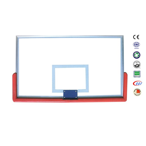 Low price organic glass basketball board basketball training equipment