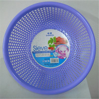cheap price simply design sieve extra large round fruit basket plastic strainer for kitchen