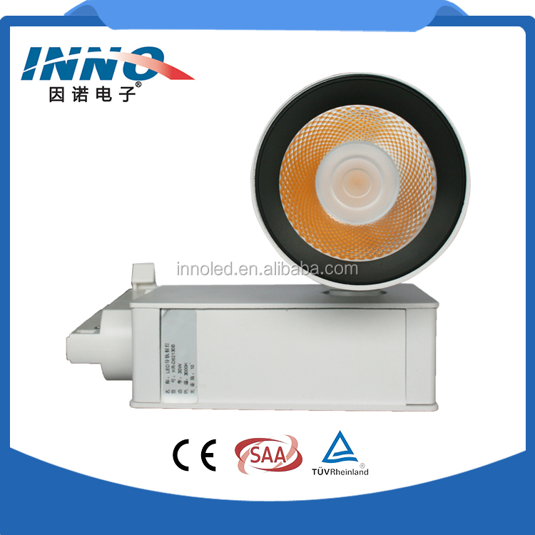 new products warm / naturally / cool white cob led track light for jewelry