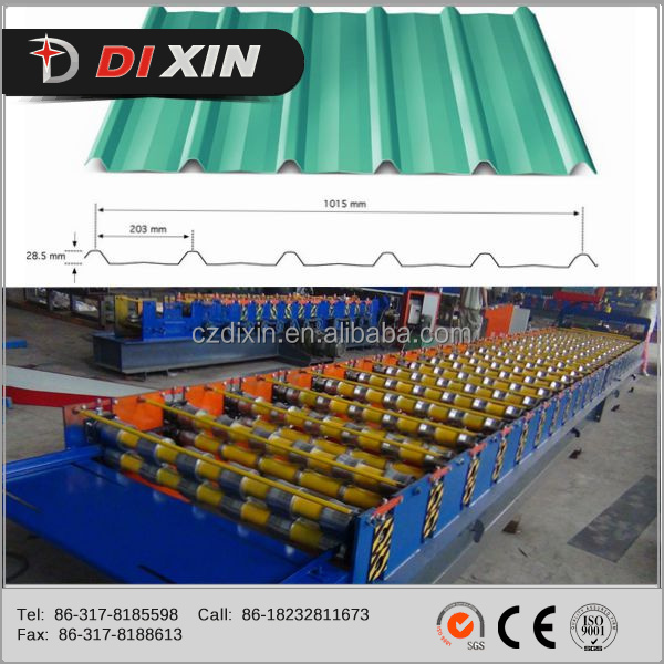 Dixin steel strip steel wall ceiling c studs roll forming machine/dry wall stud track production line
