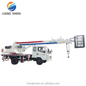 Lifting Load 6 Ton No Used Mini Truck Mounted Mobile Crane For Sale LXQY-6