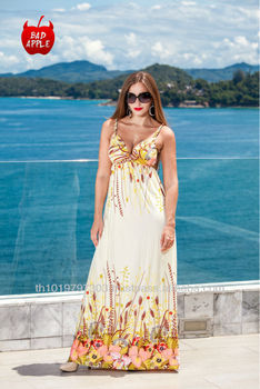 c85a9aec9f A66 Lady Colorful Beach Dress,Sexy Maxi Dress - Buy Maxi Dresses ...
