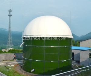 Bolted Steel Tank for Waste Biogas