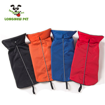 Hot Sale Winter XXXL Red Large Pet Wholesale Dog Jacket Waterproof Dog Vest Black Dog Rain Coat
