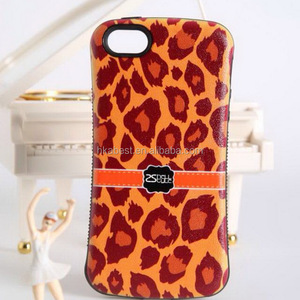 For iPhone 4s Back Cover Accept paypal Leopard Printed Iface Case