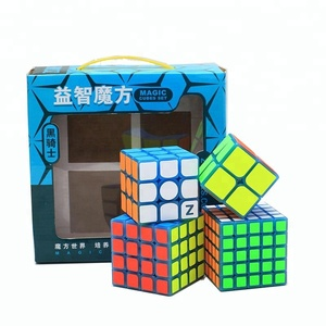 Hot Selling ZCUBE Set[Four Cubes Bundle]2*2 3*3 4*4 5*5 Magic Speed Cube