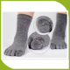 mens Fashion Five Finger Toe Socks toe five finger sock in 100% cotton
