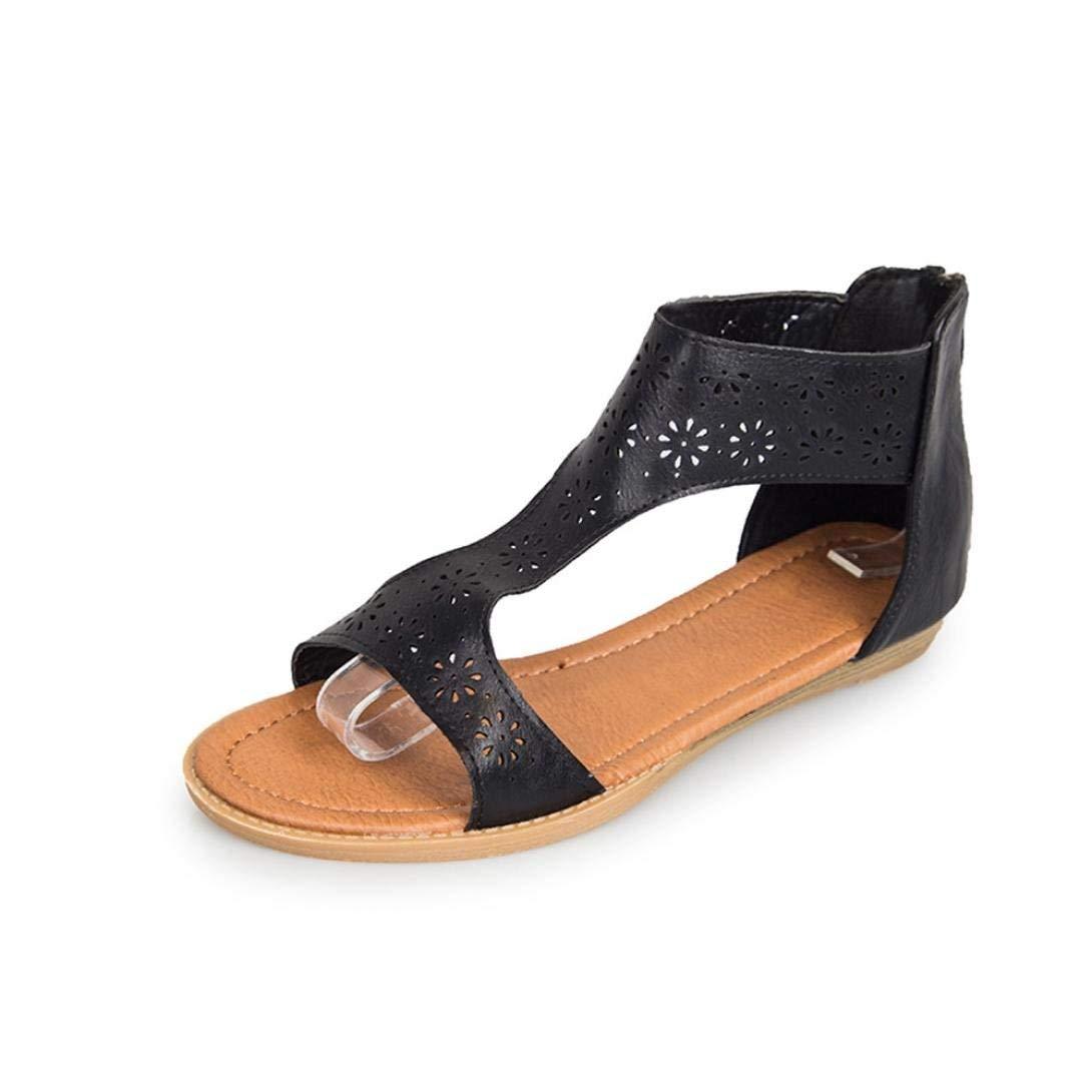 G&Kshop Gladiator Sandal,Women Summer Open Toe Casual Flat Beach Wedge Sandals
