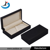 Handmade matte lacquer black pen wood box wholesale