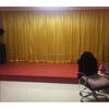 Fashionable new arrival velvet stage curtain