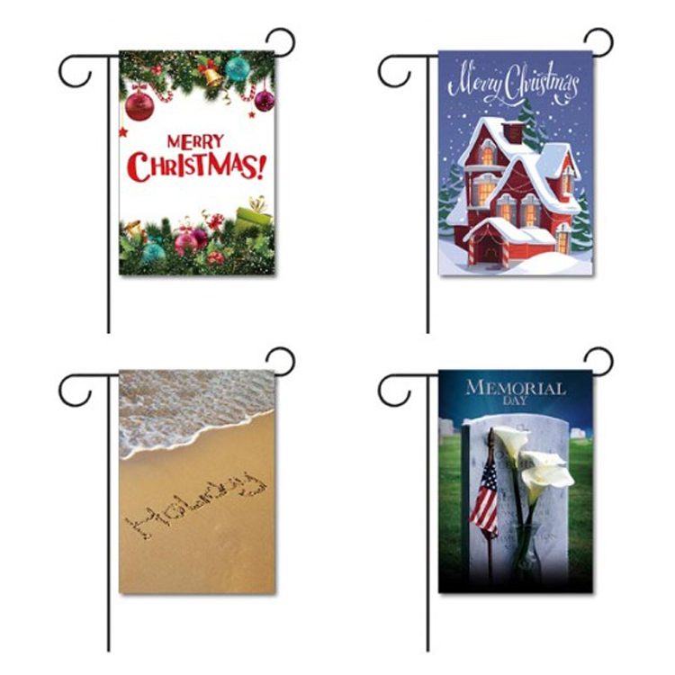 Personalized decorative house flags